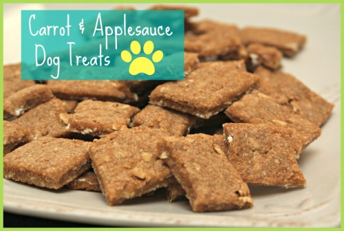 carrot applesauce dog treat recipe