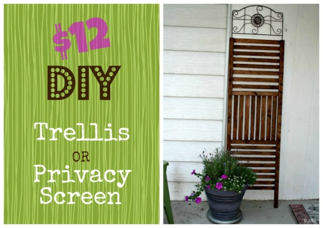 12 Outdoor Trellis Privacy Screen Diy Happyandsimple