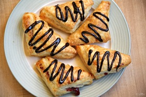 Easy Raspberry Turnovers Recipe - this dough is magic!