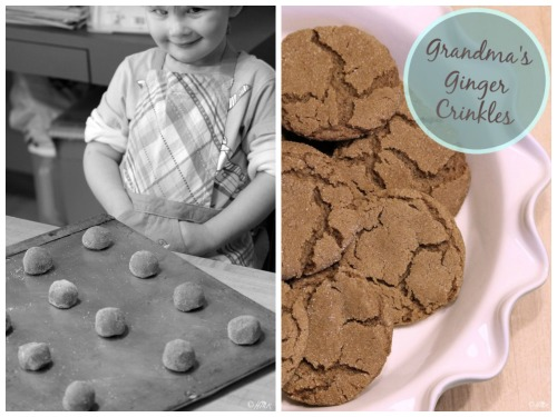 Grandma's Ginger Crinkles Recipe!